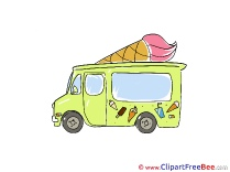 Image Ice Cream Truck free printable Cliparts and Images