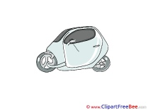 Little Car download printable Illustrations