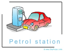 Petrol Station Clip Art Image free - Cars Clip Art Images free