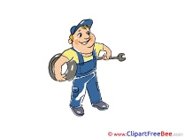 Station Service Man Wheel Pics free Illustration