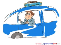 Travel Man Car Images download free Cliparts