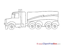 Truck printable Images for download