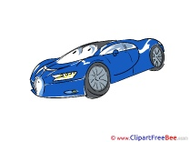Vehicle Sports Car free printable Cliparts and Images