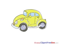 Yellow Car Pics download Illustration