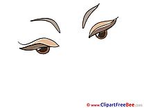 Woman Eyes Pics free download Image