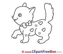 Kitten Clipart free Illustrations
