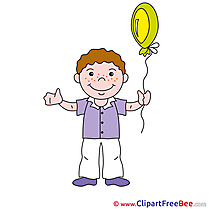 Balloon Boy Clipart free Image download