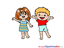 Children printable Illustrations for free