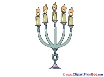 Candlestick download Clipart Christmas Cliparts