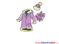 Gloves Coat Hat Clipart free Illustrations