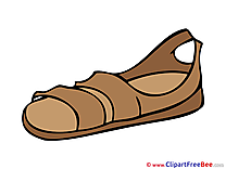 Sandal printable Images for download