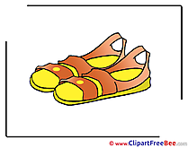 Sandals free Cliparts for download