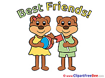 Bears Clipart Best Friends free Images