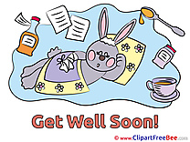 Bunny Pics Get Well Soon  free Image