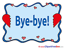 Hearts Goodbye free Images download