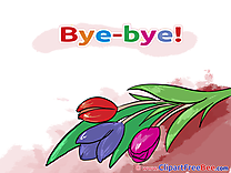 Tulips Goodbye Illustrations for free