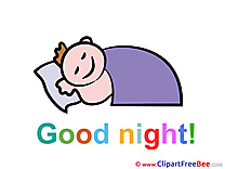 Baby Boy Good Night download Illustration