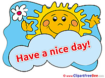 Sun Flower download Clipart Have a Nice Day Cliparts
