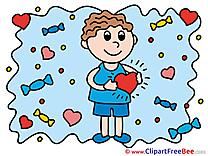 Boy Heart free Illustration Love