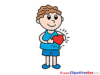 Free Cliparts Heart Love