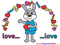 Rabbit download Clipart Love Cliparts