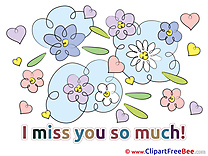 Love Clipart I miss You free Images