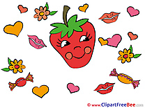 Strawberry Clipart You are sweet free Images