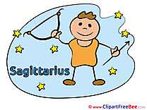 Sagittarius free Cliparts Zodiac