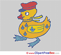 Duck Design download Cross Stitch