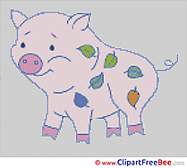 Pig Cross Stitch download free
