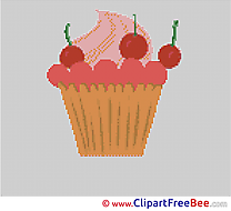 Cherries Pancake Cross Stitches download for free