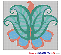 Design Flower download Cross Stitch