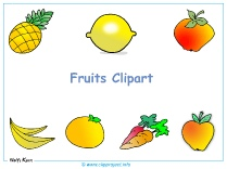 Fruits Clipart Desktop Background - Free Desktop Backgrounds download