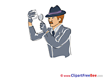 Clues Loupe Detective printable Images for download