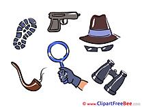 Hat Loupe Binoculars Pistol Pics free Illustration