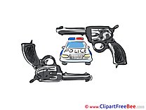 Pistols Police Car Pics free download Image