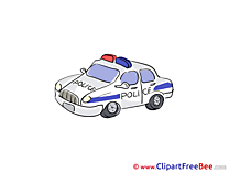 Police Car free Illustration download