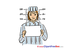 Prisoner Boy Clipart free Illustrations