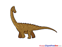Barosaurus Clipart free Illustrations