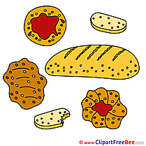 Bakery Cliparts printable for free
