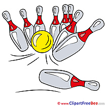 Bowling Ball Pins Pics free Illustration