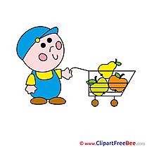 Boy Shop Clipart free Image download