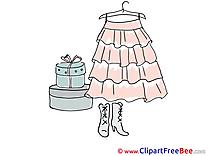 Dress Pics printable Cliparts