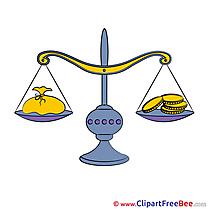 Finances Scales free Illustration download