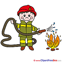 Firefighter Pics printable Cliparts