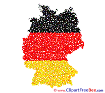 Germany Map free Cliparts for download