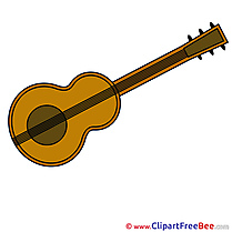 Guitar Clipart free Illustrations
