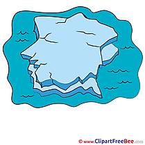 Iceberg Clipart free Illustrations