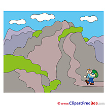 Mountain Clipart free Illustrations