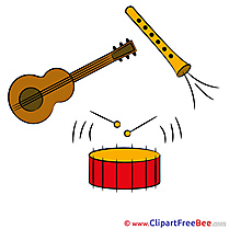 Music Instruments Pics download Illustration